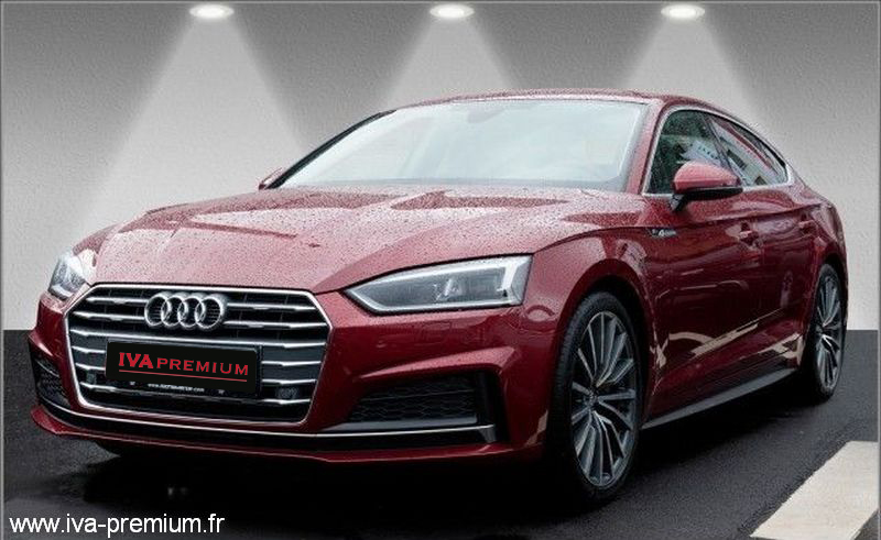 audi a5 sportback 2 0 tfsi s line 252 ch vente de voitures import es d 39 allemagne. Black Bedroom Furniture Sets. Home Design Ideas