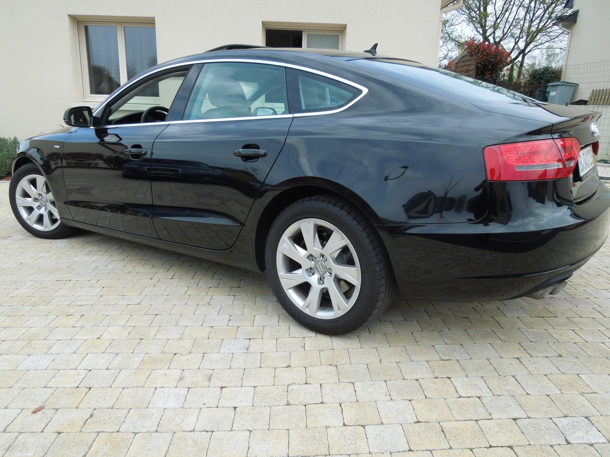 audi a5 sportback s line vente de voitures import es d 39 allemagne. Black Bedroom Furniture Sets. Home Design Ideas